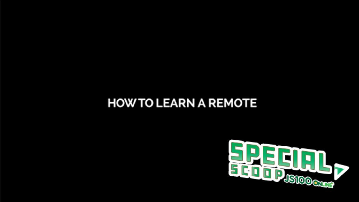 [Smart EGG] How to Learn A Remote