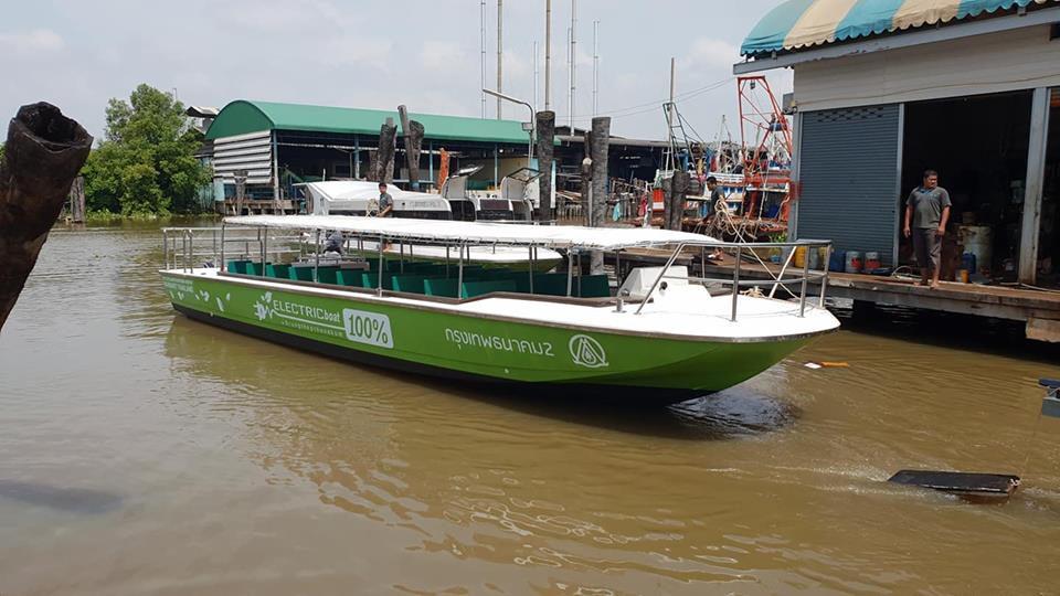 'เรือไฟฟ้าคลองผดุงฯ' เชื่อมต่อ MRT รถไฟ-เรือด่วนฯ ให้บริการ 27 พ.ย.นี้