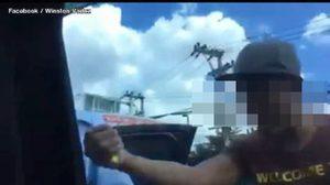 ฝรั่งโพสต์ประจาน คนขับรถรับจ้างเชียงใหม่ รุมล้อมแกร็บคาร์ บังคับผู้โดยสารลงจากรถ