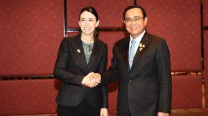 ประยุทธ์ ขอ นายกฯนิวซีแลนด์ พิจารณายกเว้นวีซ่าให้นักท่องเที่ยวไทย