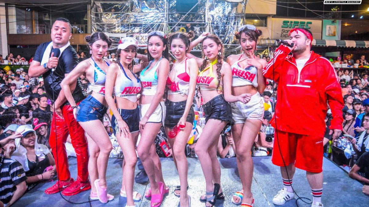 บรรยากาศความแฉะ ของสาวๆ RUSH ใน Summer Party 2018 ทั้ง 5 วัน
