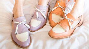 Winter White รองเท้าวินเทจ คู่ใจสาวคลาสสิคย้อนยุค