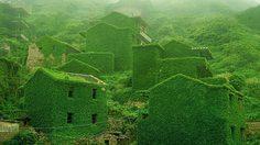 หมู่บ้านชาวประมงร้างในจีน ถูกเติมเต็มด้วยธรรมชาติ กลายเป็นแหล่งท่องเที่ยวแห่งใหม่!