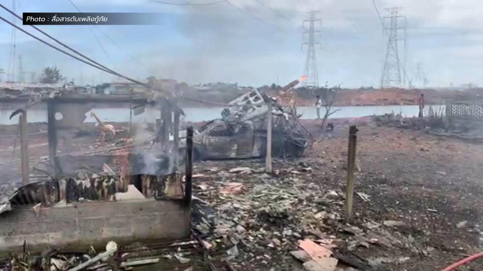 คืบหน้าเหตุท่อก๊าซระเบิด ปตท. ยันเยียวยาดูแลผู้เสียหายทั้งหมด
