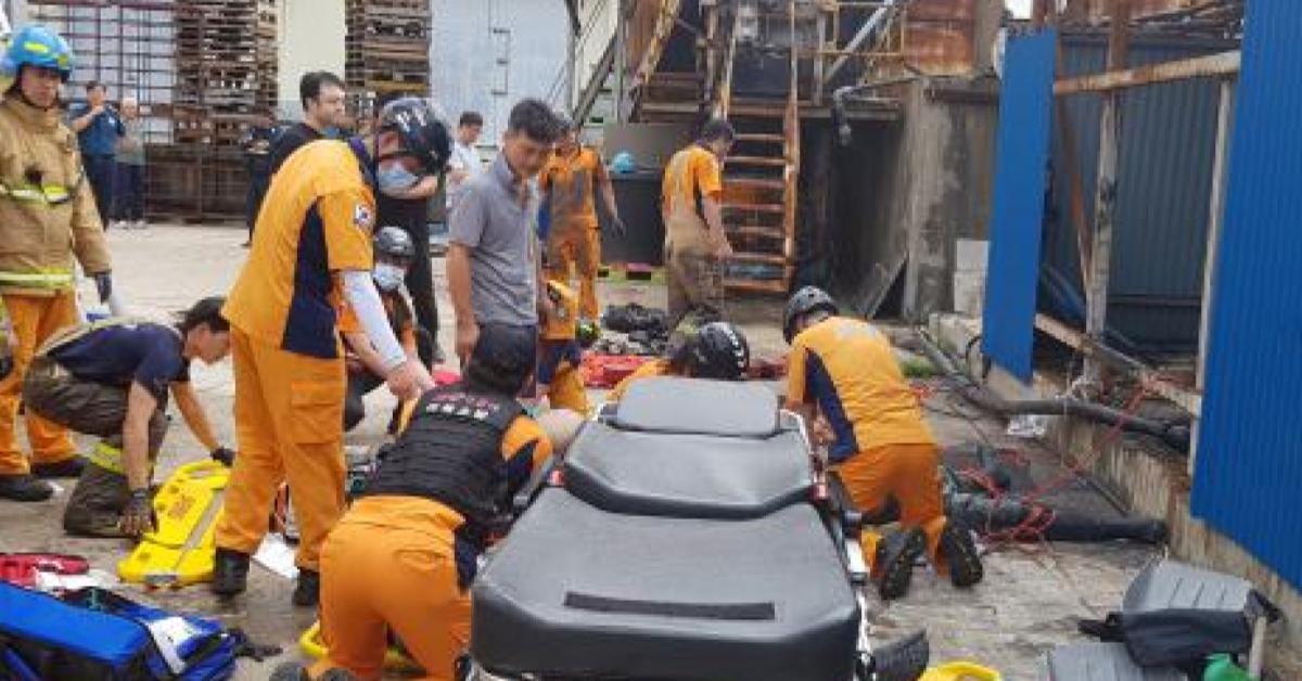 """3 ผีน้อยชาวไทยถูก """"แก๊สพิษ"""" เสียชีวิตคาโรงงานในเกาหลีใต้"""