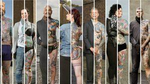 Tattooed People งานศิลปะที่มีลมหายใจ ผลงานของ Alan Powdrill ช่างภาพจากลอนดอน