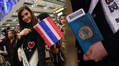 พระองค์หญิงฯ ทรงประทาน ซองใส่พาสปอร์ต แก่ มารีญา ก่อนไปประกวด มิสยูนิเวิร์สไทยแลนด์ 2017