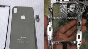 หลุด!! ชิ้นส่วน iPhone 8 มาพร้อมเฟรมโลหะ และฝาหลังทำจากแก้ว