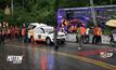 รถบัสนักท่องเที่ยวแหกโค้งเสียชีวิต 1 ราย