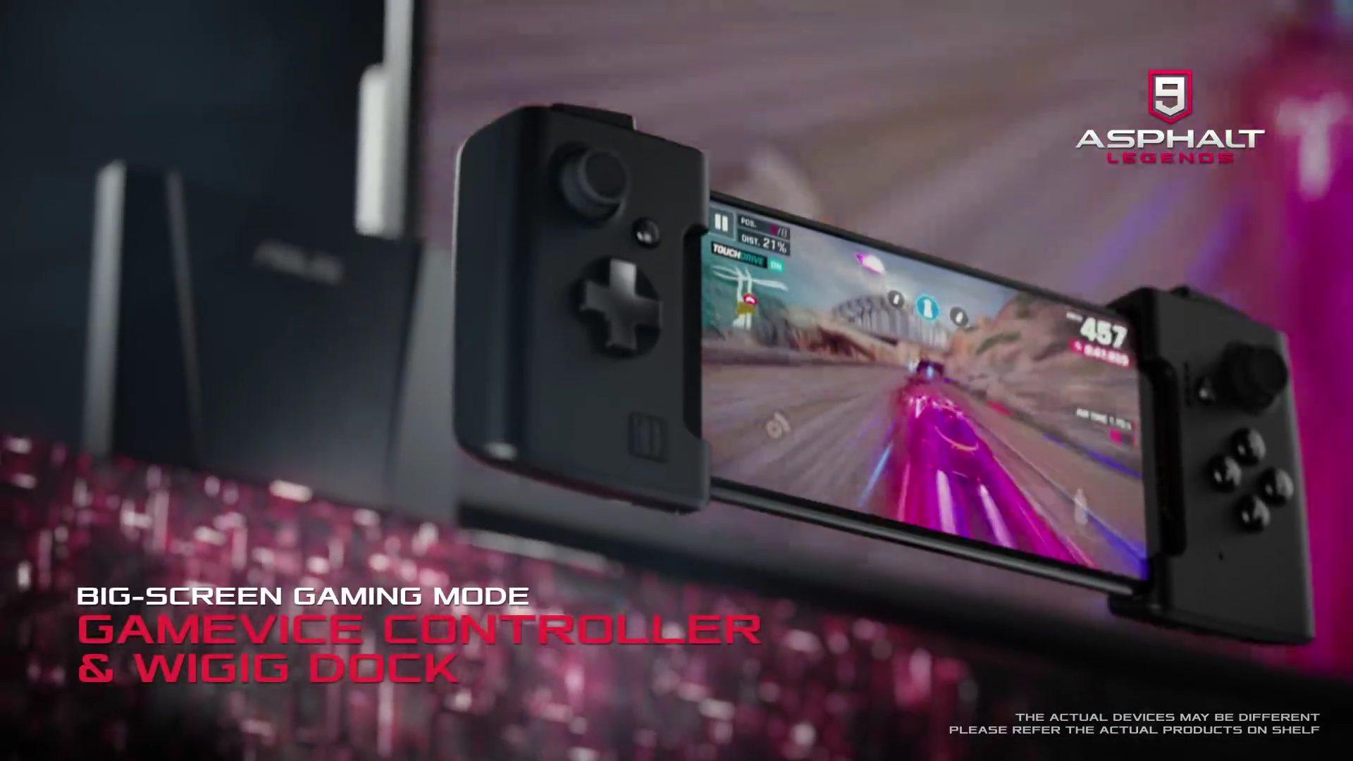 ตัวอย่างเล่นเกมบนมือถือ Asus ROG Phone