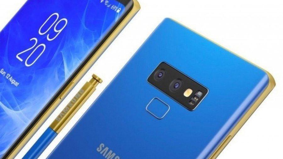 โมดูลกล้องหลัง Galaxy Note 9