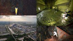 ภาพถ่ายสุดเอ็กซ์คลูซีฟของโรงไฟฟ้านิวเคลียร์ Chernobyl ที่ถูกครอบด้วยโรงหินรุ่นใหม่