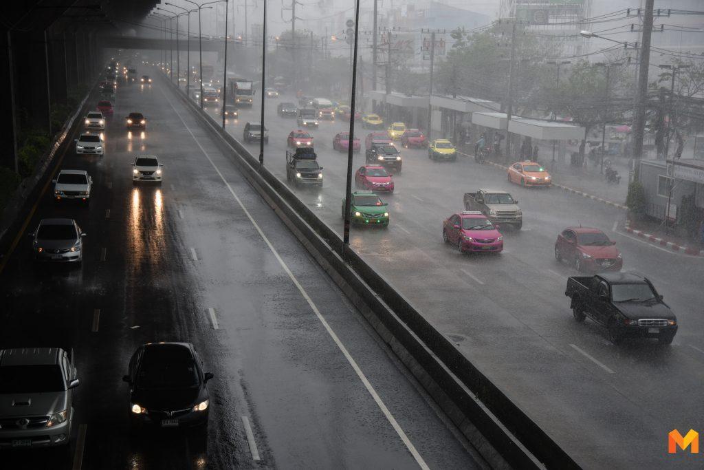 อุตุฯ เตือนทั่วไทยพายุฝนฟ้าคะนอง กทม.ตกร้อยละ 10 ของพื้นที่