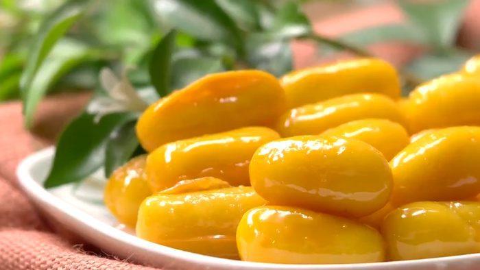 วิธีทำ ขนมเม็ดขนุน เมนูขนมไทยโบราณ หวานอร่อย