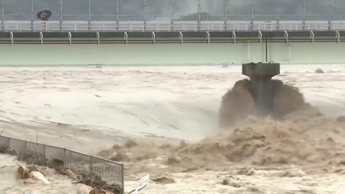 น้ำท่วมหนักในญี่ปุ่น คร่าอย่างน้อย 40 ชีวิต