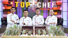"""4 คนสุดท้าย """"Top Chef 3"""" กับโจทย์สุดพีค! เฟ้นหาผู้เข้ารอบ 3 คนสุดท้าย"""
