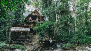 """พาร่างไปฟอกปอด """"เฌอชีวา"""" แม่แมะ บ้านกลางหุบเขา อยู่กับธรรมชาติริมลำธาร"""