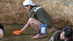 ภาพบรรยากาศคลิกดี ทำดีครั้งที่ 3/2557 : ขัดบ่อเต่า ทำซั้ง อนุรักษ์ชายฝั่งทะเล