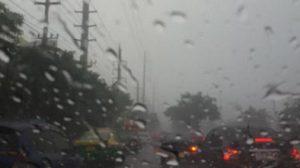 กทม.มีฝนตกโดยทั่วไป บางพื้นที่มีน้ำท่วมขัง