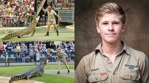 ลูกชาย Steve Irwin เดินตามรอยพ่อแบบก้าวต่อก้าว ขึ้นแท่นนักล่าจระเข้คนต่อไป