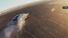 Tesla3 เปิดตัว Track Mode โชว์ดริฟท์ในสนาม Willow Springs เร็วกว่า Ferrari
