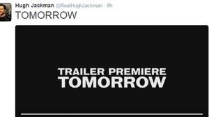 ฮิวจ์ แจ็คแมน ทวีตข้อความ ตัวอย่างแรกจาก Logan มาพรุ่งนี้