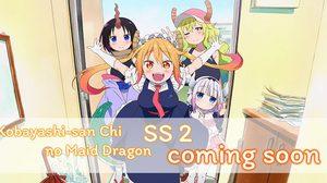 เหล่ามังกรสาวๆกำลังจะกลับมา Kobayashi-san Chi no Maid Dragon ประกาศทำอนิเมะซีซั่น 2 แล้ว