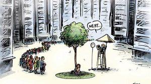 ภาพการ์ตูน สะท้อนความจริงของสังคม จริงซะยิ่งกว่าจริง