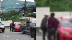 เปิดใจ ตำรวจจราจรพัทยากระโดดถีบแท็กซี่ เผย เป็นการป้องกันตัวเพื่อไม่ให้ถูกชน
