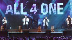 ALL 4 ONE พร้อม เป๊ก ผลิตโชค โชว์คอนเสิร์ตป๊อบอาร์แอนด์บีแห่งปี