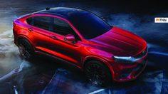 เปิดภาพแรกอย่างเป็นทางการ Geely รถ Coupe SUV จากประเทศจีน