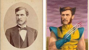 คิดได้ไง! เปลี่ยนภาพถ่ายอายุ 100 ปี ให้เป็นซุปเปอร์ฮีโร่สุดเท่ ฝีมือศิลปิน Alex Gross