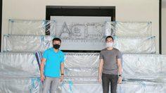 แอ็กซ์ สตูดิโอ จัดทำกล่องครอบผู้ป่วย! มอบกลุ่ม อาสาทำให้สู้ภัยโควิด ส่งต่อโรงพยาบาลทั่วประเทศ