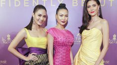 น้ำตาล-มารีญา-นิ้ง ร่วมงานแถลงไทยเตรียมเป็นเจ้าภาพจัดการประกวด Miss Universe ปี 2018