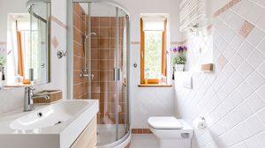 ทริคง่ายๆเพิ่มพื้นที่ให้ ห้องน้ำขนาดเล็ก ดูกว้างแถมใช้งานได้สะดวกยิ่งขึ้น