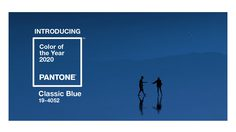 สีแห่งปี 2020 Pantone Classic Blue สีแห่งความสงบ