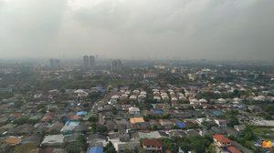 ฝนตกช่วงเช้าส่งผลดี!! กทม.ค่าฝุ่น PM 2.5 ลดลง เกินมาตรฐาน 2 พื้นที่