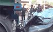 ครูขับรถหลับในพุ่งชนนักเรียนเจ็บ 5 คน