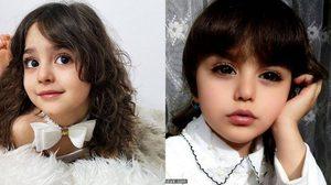 สตั้นไป 3 วิ! Mahdis หนูน้อยชาวอิหร่าน สวยที่สุดในโลก จนพ่อต้องมาเป็นบอดี้การ์ด