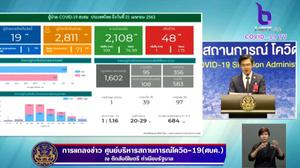 สรุปแถลง ศบค. โควิด 19 ในไทย วันนี้ 21/04/2563 | 11.30 น.