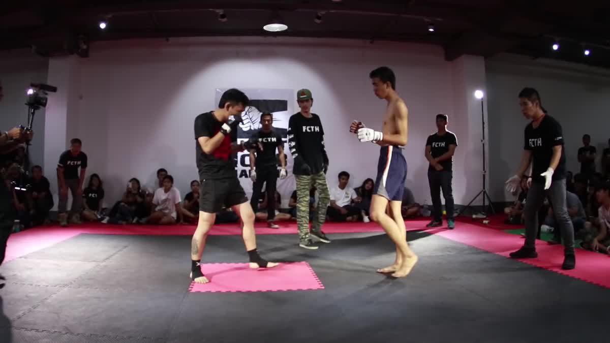 Fight Club Thailand 2017นิวฮาดแแมน x เอริทร์ คู่ที่ 216
