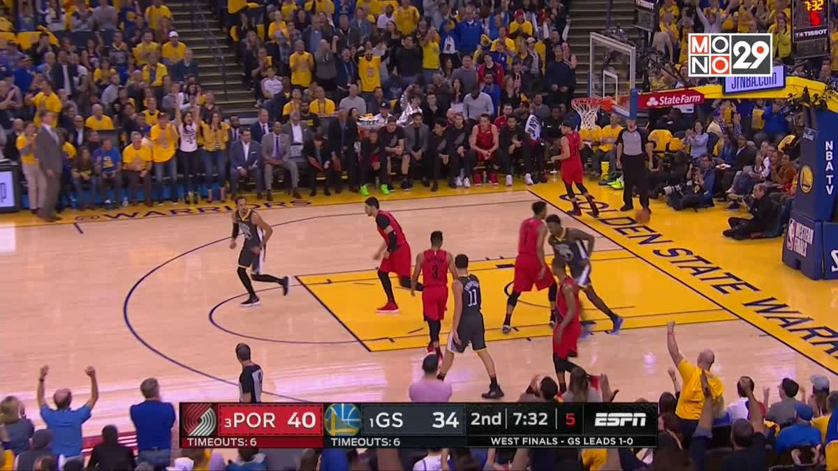 Highlight PORTLAND TRAIL BLAZERS VS GOLDEN STATE WARRIORS [Game2]