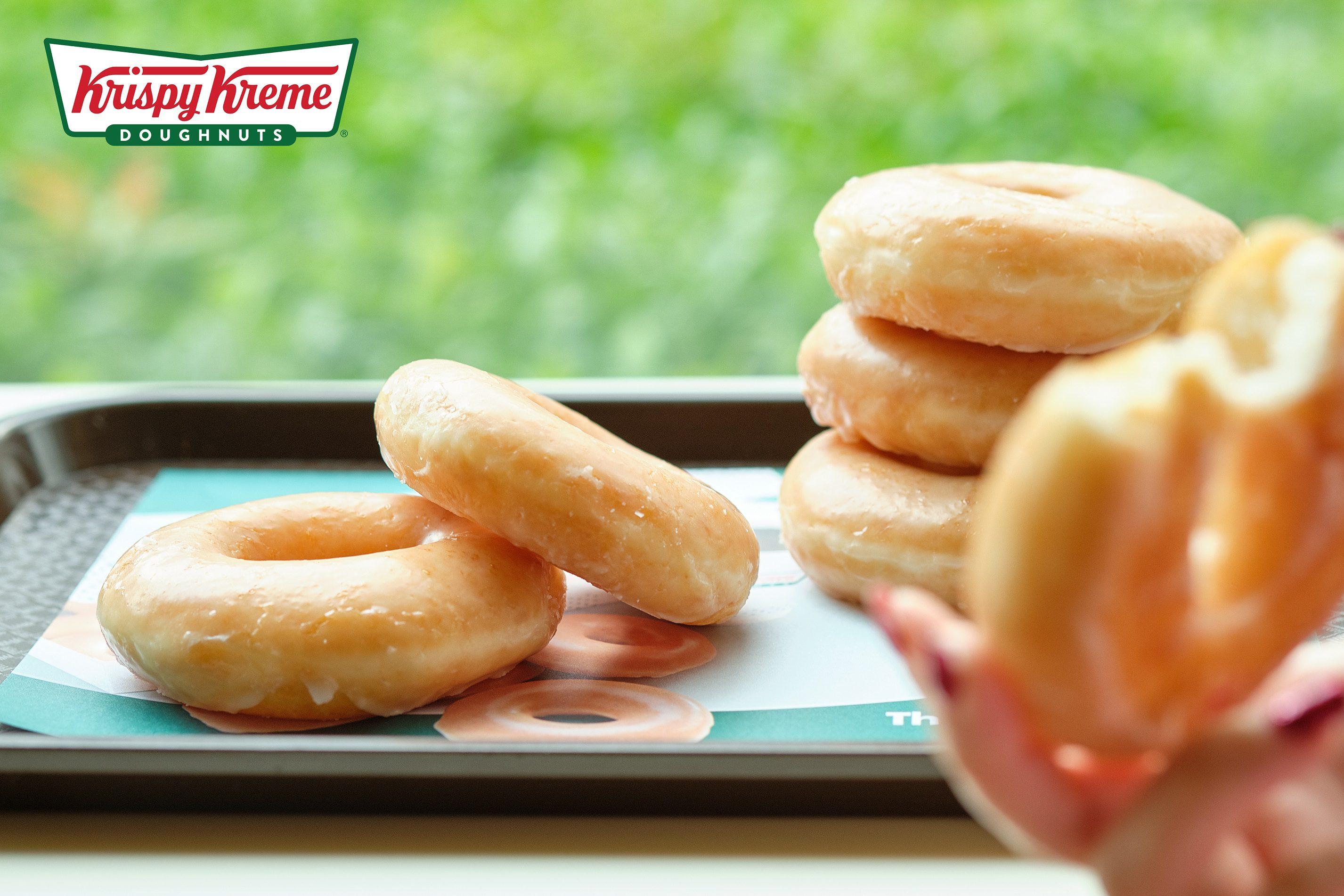 ความสุขแบบคู่ ของคนมีรัก ที่ Krispy Kreme @ I'm Chinatown