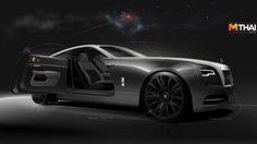 Rolls-Royce เผยภาพสเก็ตช์ของตำนานเที่ยวบินประวัติศาสตร์สู่ Wraith Eagle 8