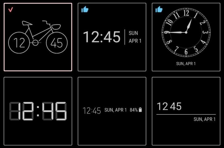 ตัวอย่าง วิทเจ็ต นาฬิกาใหม่จาก Samsung