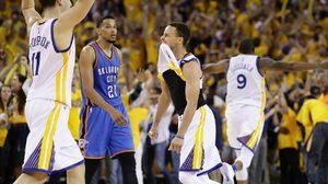 รีแมตช์! โกลเดน สเตท เก็บชัย 3 เกมรวด เข้าชิง คลีฟแลนด์ NBA ปีนี้