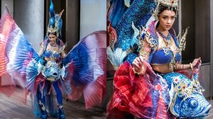 เคาะแล้ว ปลากัด ชุดประจำชาติไทย ที่ อแมนด้า จะใส่ไปอวดชาวโลก บนเวทีมิสยูนิเวิร์ส