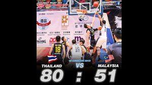 ยัดห่วง ทีมชาติไทย ชนะ มาเลเซีย 80-51 ศึก Super Kung Sheung Cup