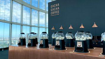 ร้านกาแฟ ในประเทศญี่ปุ่นให้ลูกค้าได้เพลิดเพลินกับกาแฟเสี่ยงทายโดยใช้ตู้กาชาปอง
