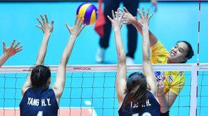 ทีมตบสาวไทย คว่ำ ทีมชาติจีน 3-1 เซต ลิ่วชิงชนะเลิศ วอลเลย์บอลชิงแชมป์เอเชีย